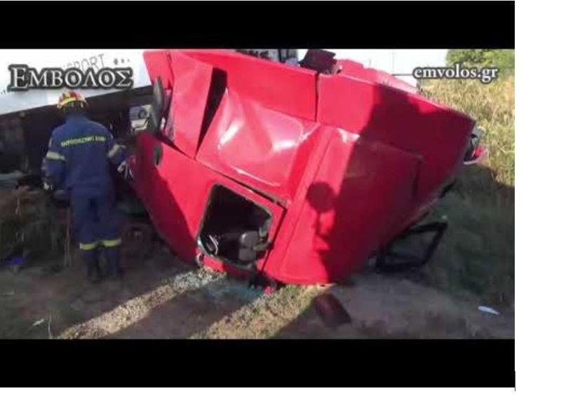Nεκρός σε τροχαίο 54χρονος οδηγός νταλίκας από τη Σιάτιστα, πατέρας τεσσάρων παιδιών (Βίντεο)