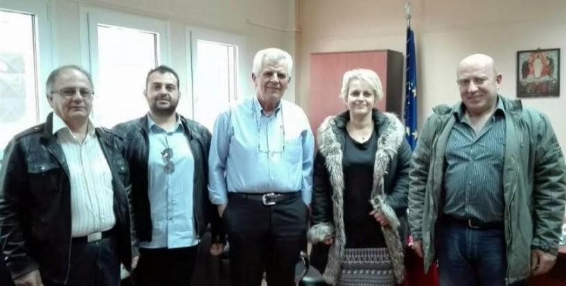 Συνάντηση γνωριμίας συλλόγων αιμοδοτών με τον διοικητή του νοσοκομείου