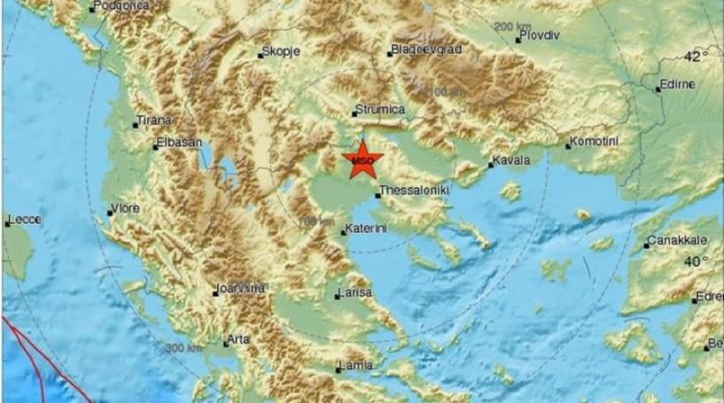 Σεισμός 4,5 R με επίκεντρο το Κιλκίς κούνησε και την Ημαθία
