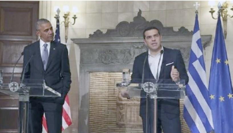 Τι είπαν Αλ. Τσίπρας και Μπάρακ Ομπάμα  για χρέος, προσφυγικό, Κυπριακό και Τραμπ