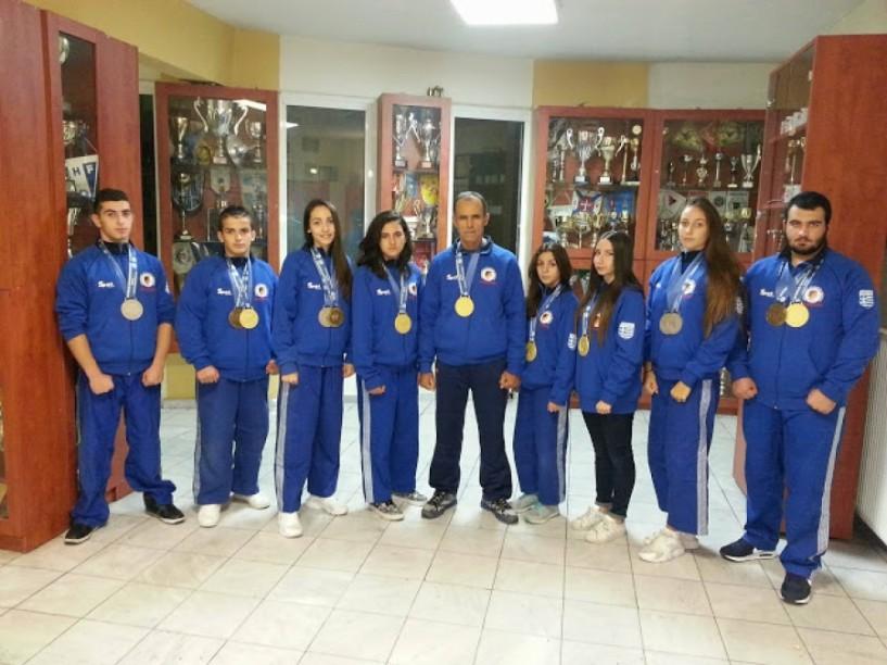 Παγκόσμιοι Πρωταθλητές οι αθλητές του ΑΣΒ ΗΜΑΘΙΩΝ με 19 μετάλλια!