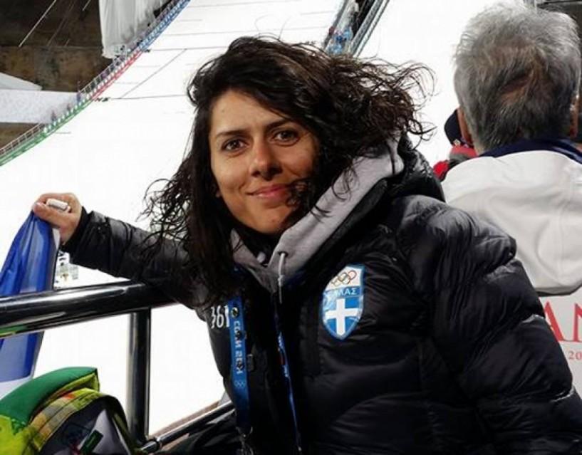 Για προετοιμασία στο St. Moritz η Σοφία Ράλλη