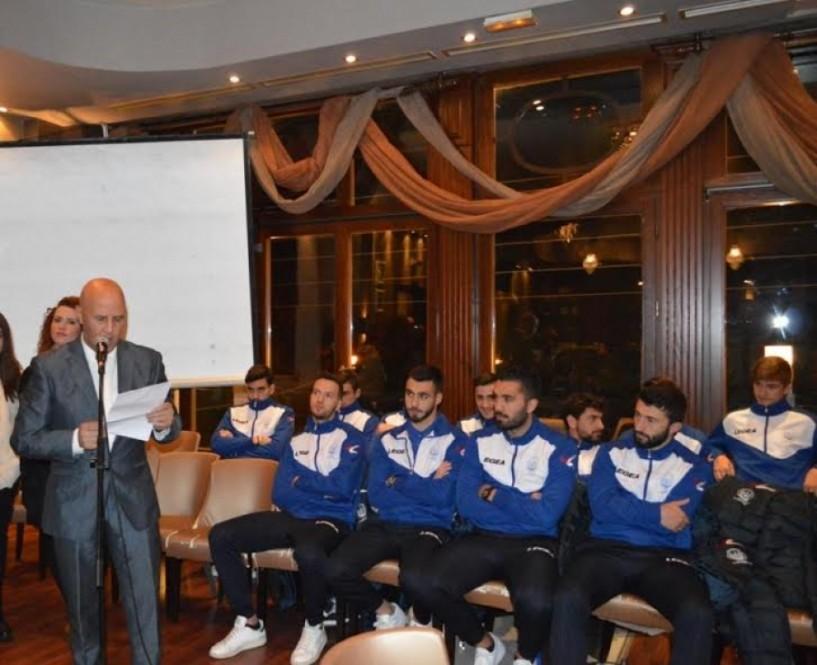 Εκδήλωση παρουσίασης ομάδας, χορηγών και υποστηρικτών του Φ.Α.Σ. Νάουσα