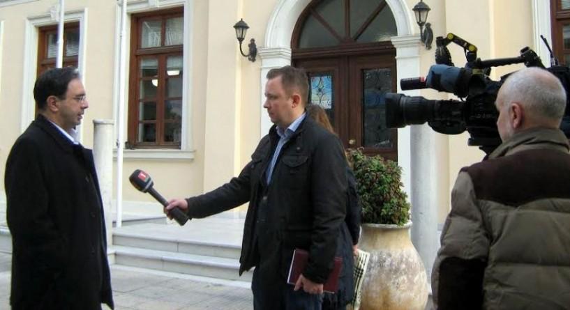 Συνέντευξη του δημάρχου Βέροιας σε μέσα ενημέρωσης της Λευκορωσίας: Αγροτική παραγωγή και τουρισμός στο επίκεντρο