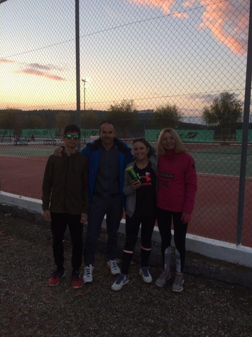 Όμιλος Αντισφαίρισης Βέροιας Αλέξανδρος στους διασυλλογικούς  με 4 αθλητές