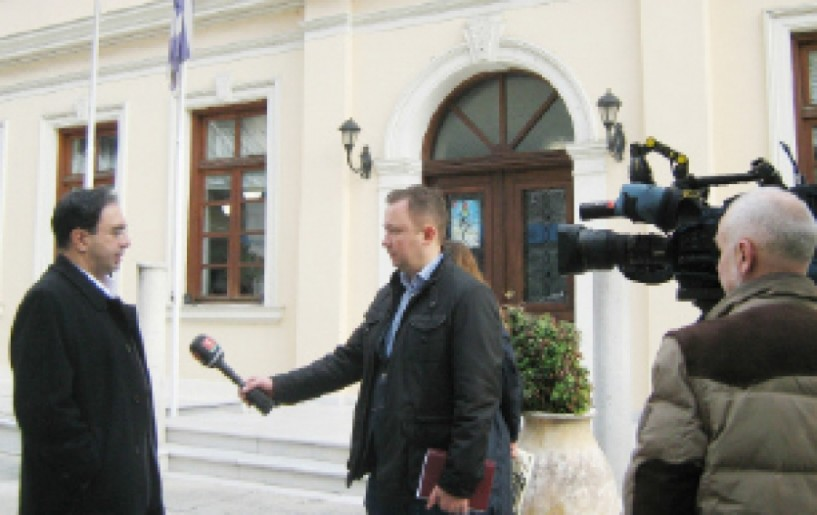 H αγροτική παραγωγή  και ο τουρισμός στο επίκεντρο της συνέντευξης Βοργιαζίδη  σε ΜΜΕ της Λευκορωσίας