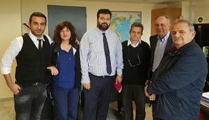 Στην αθλητική ηγεσία της κυβέρνησης θέματα υποδομών της Ημαθίας και το χιονοδρομικό Σελίου
