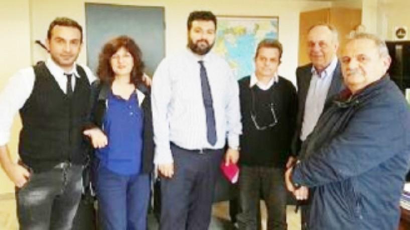 Στην αθλητική ηγεσία  της κυβέρνησης θέματα υποδομών της Ημαθίας και το χιονοδρομικό Κέντρο Σελίου