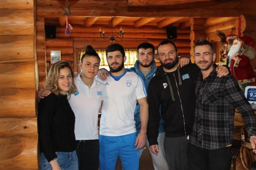 Έλληνες πρωταθλητές του τζούντο για προετοιμασία στην Κουτσούφλιανη