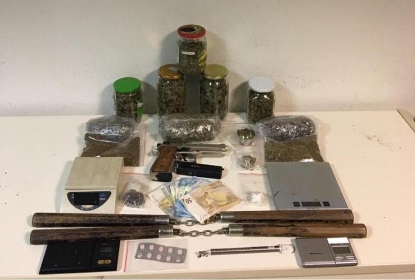Συλλήψεις για ναρκωτικά από το Τμήμα Ασφάλειας Βέροιας στη Θεσσαλονίκη