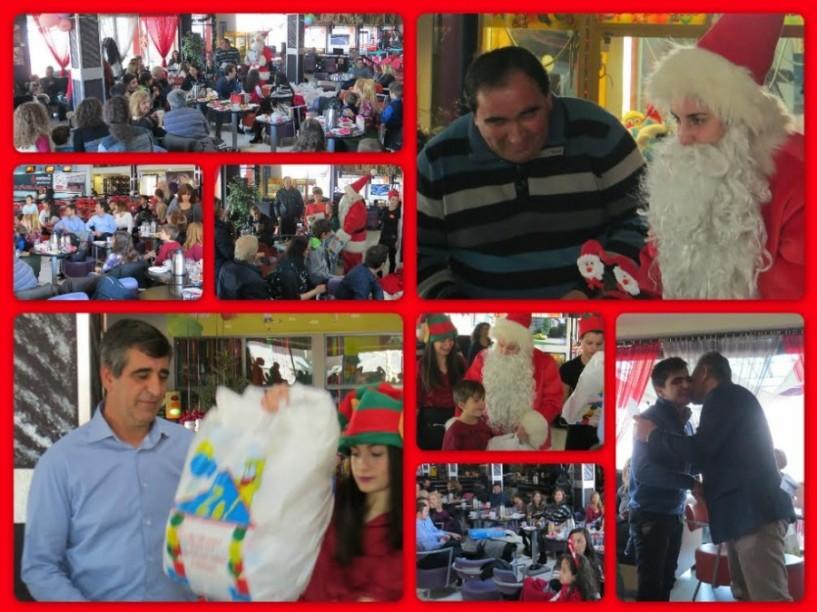 Χριστουγιεννιάτικη γιορτή των εργαζομένων της ΑΛΜΜΕ