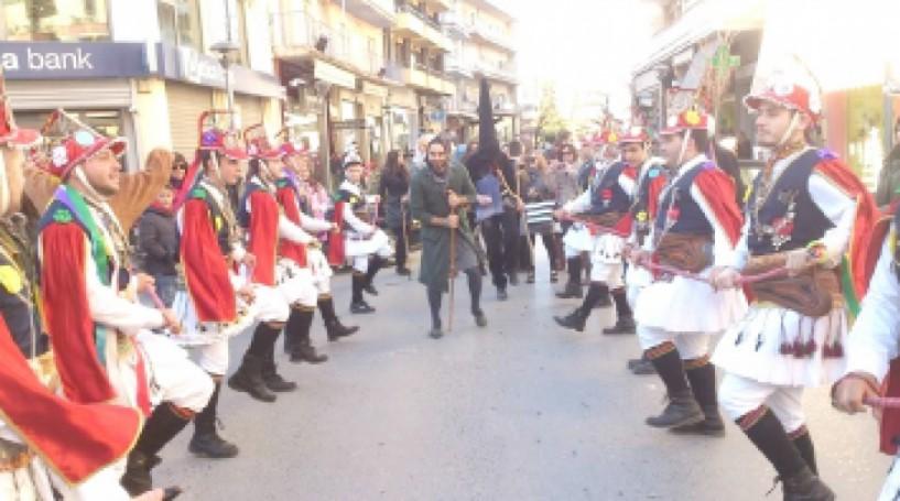 Οι Μωμόγεροι αύριο το πρωί  στη Βέροια από την Εύξεινο Λέσχη και τους Συλλόγους  Τετράλοφος και Ροδίτη Κοζάνης