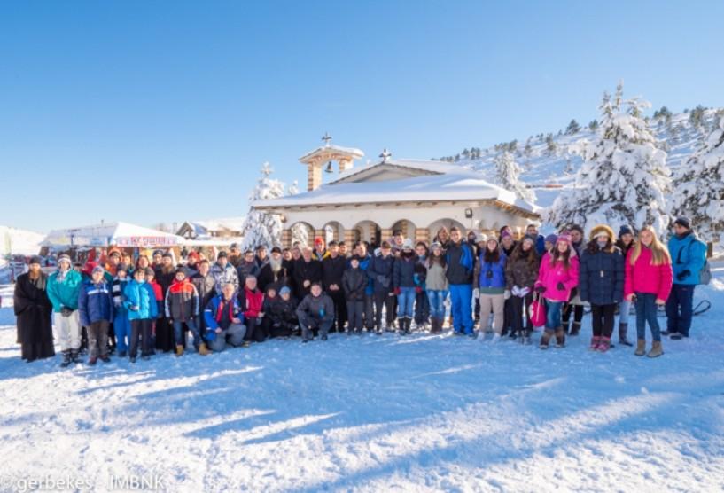 Οι Χιονοδρόμοι γιορτάζουν τον προστάτη τους Άγιο Σεραφείμ