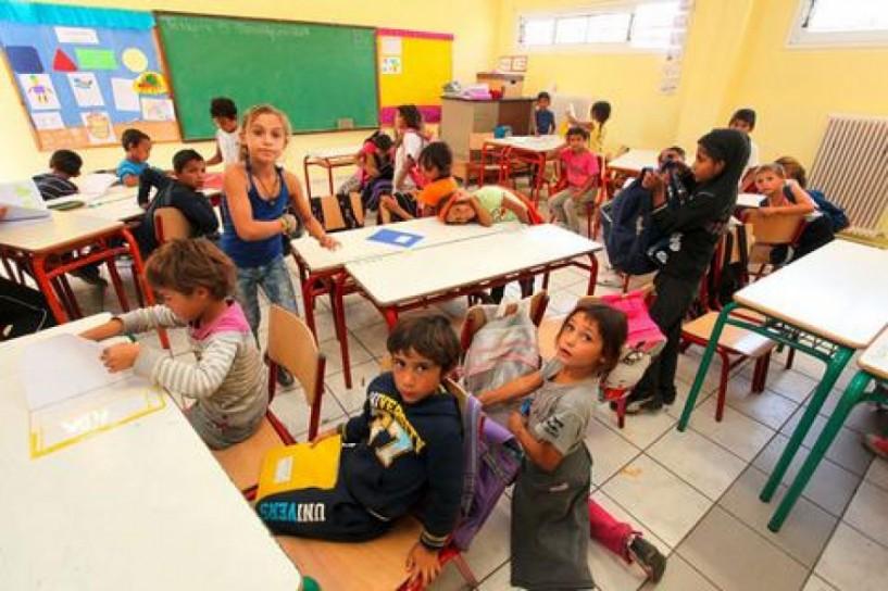 Με κονδύλια της Διεθνούς Οργάνωσης Μετανάστευσης οι τάξεις των προσφυγόπουλων σε Αλεξάνδρεια και Βέροια