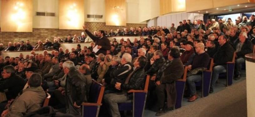 Τη διαγραφή του Αντώνη Γρέζιου αποφάσισε η γενική συνέλευση του Αγροτικού Συνεταιρισμού Νάουσας
