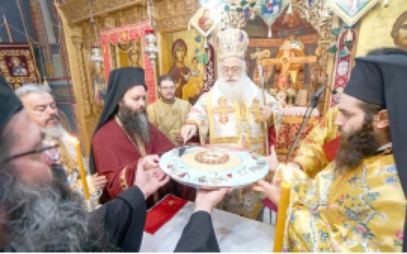 Πανηγύρισε ο Άγιος Τρύφωνας στην Αγία Βαρβάρα