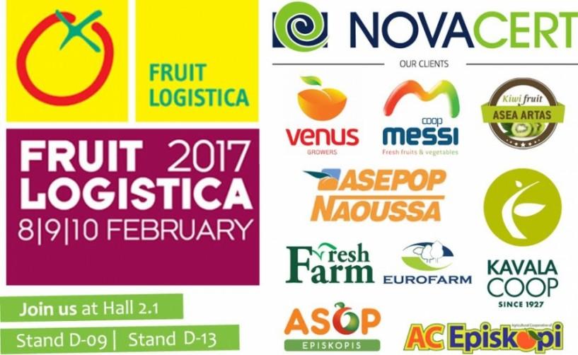 Ισχυρή παρουσία ελληνικών εξαγωγικών φορέων στη Fruit Logistica