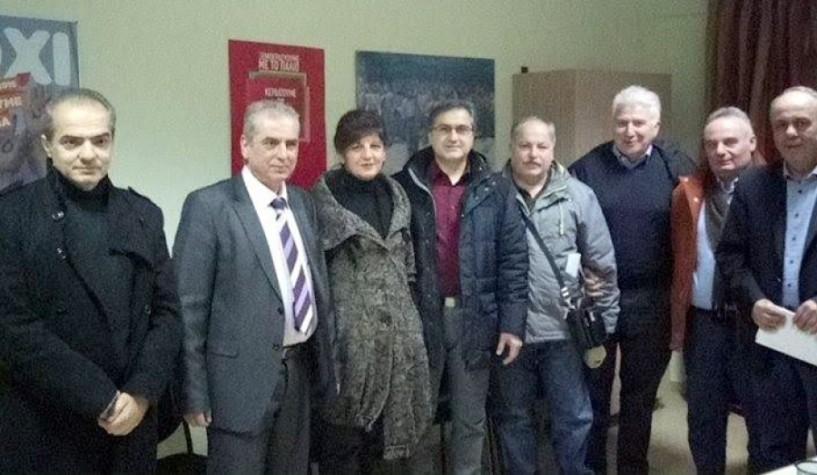 Βουλευτές ΣΥΡΙΖΑ προς την Ομοσπονδία Επαγγελματοβιοτεχνών Βέροιας: Μέχρι το κλείσιμο της αξιολόγησης δεν αλλάξει η οικονομική πολιτική