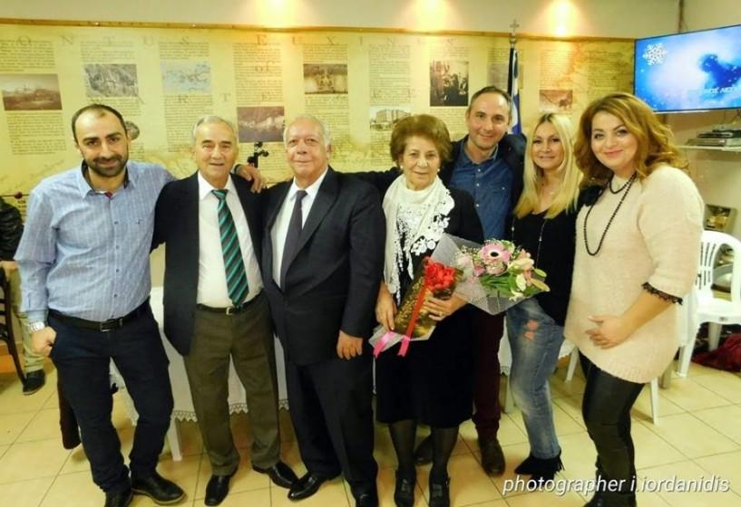 Γιορτή των Γραμμάτων και Κοπή Βασιλόπιτας από την Εύξεινο Λέσχη Χαρίεσσας