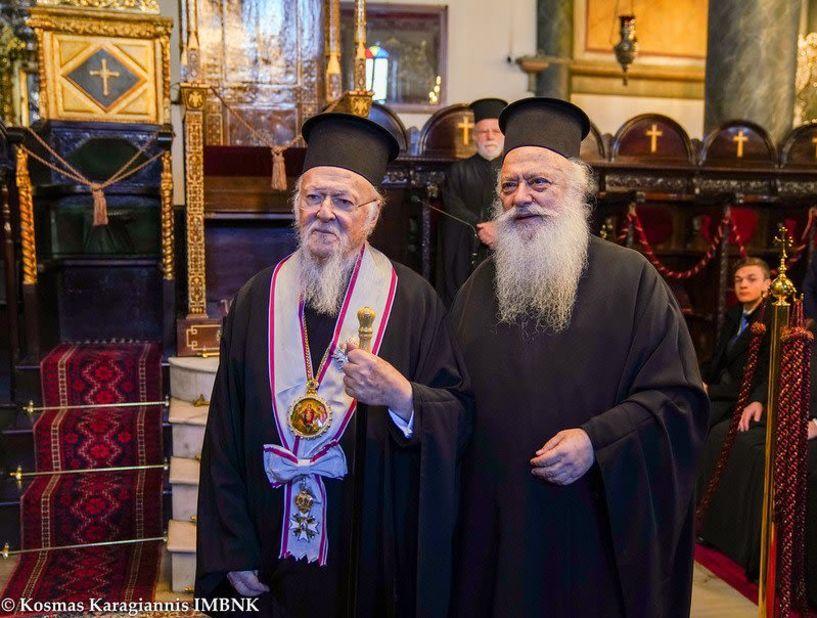 Ο Μητροπολίτης Βέροιας στο Οικουμενικό Πατριαρχείο Κωνσταντινούπολης
