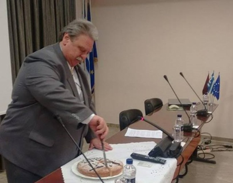 Με αιχμές για το παραγωγικό μοντέλο και το Τελωνείο στην Κουλούρα κόπηκε η πίτα του Επιμελητηρίου Ημαθίας