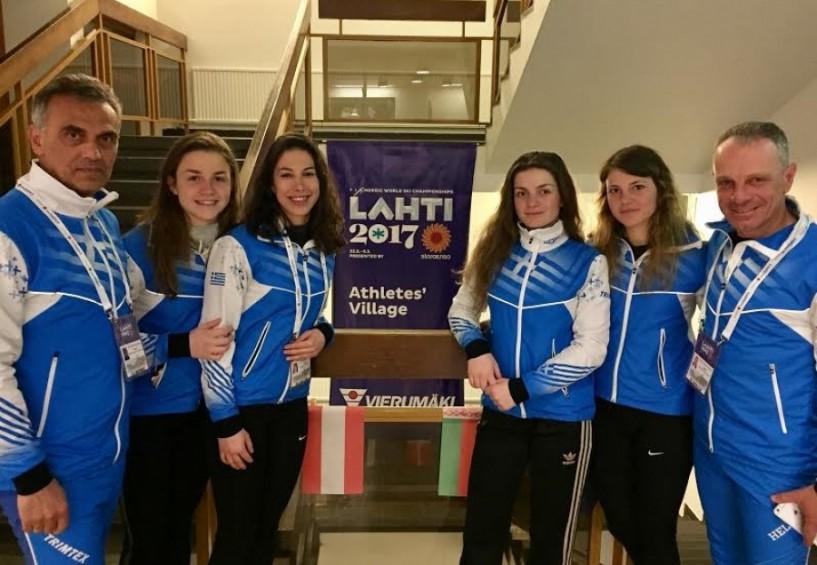 Ο ΕΟΣ Νάουσας στο Λάχτι της Φιλανδίας με τέσσερις αθλήτριες!