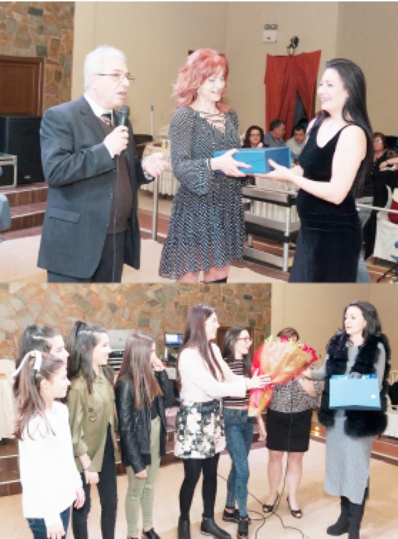 Με μεγάλη επιτυχία ο χορός του ΑΟΡΓ Βέροιας με την παρουσία της Νούλης Γιαννιτσοπούλου και της Μαρίας Ιλίεβα