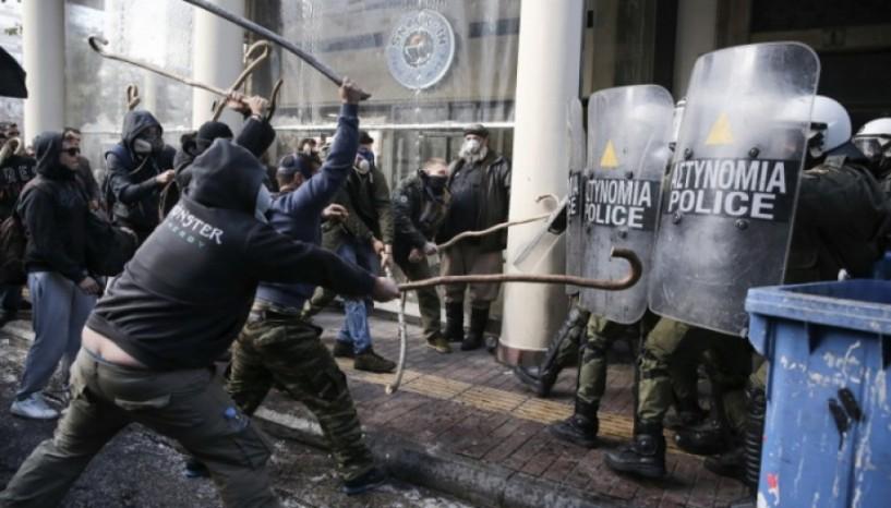 Επεισοδιακό το αγροτικό συλλαλητήριο στην Αθήνα