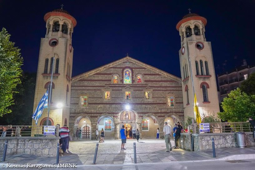 Κυκλοφοριακές ρυθμίσεις για την υποδοχή του Τιμίου Σταυρού από την Παναγία Σουμελά στην εκκλησία του Αγίου Αντωνίου