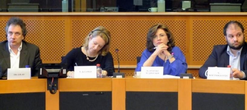 Παρουσίαση του Powering Naoussa Up στο Ευρωπαϊκό Κοινοβούλιο από τον Νίκο Κουτσογιάννη