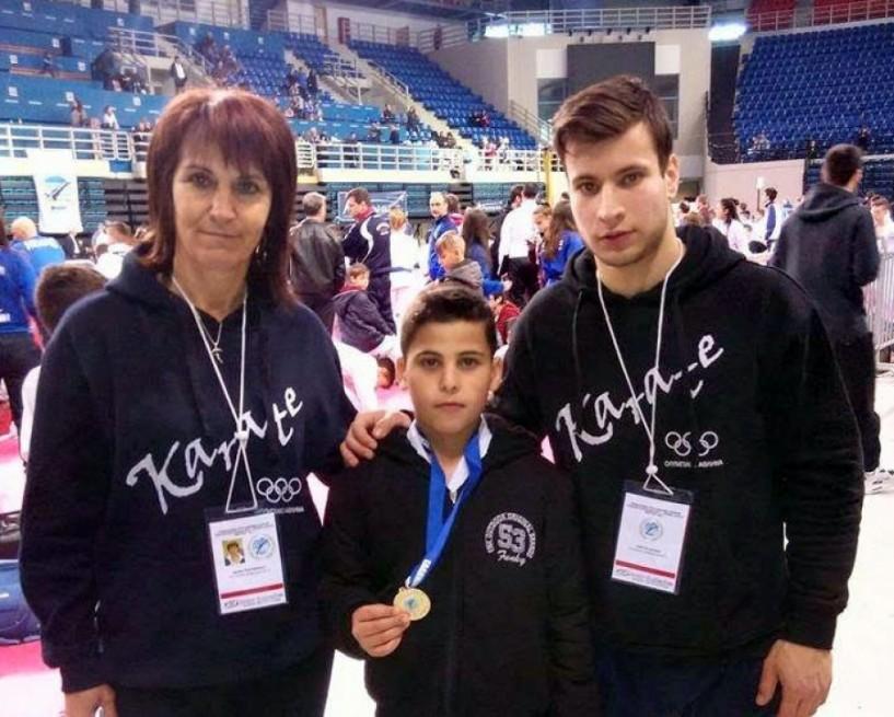 Χρυσό μετάλλιο για τον Αντώνη Κυριαζόπουλο στο πανελλήνιο πρωτάθλημα καράτε