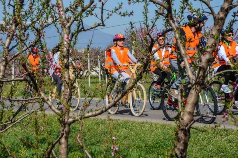Άνθισαν τα χαμόγελα στην Ποδηλατάδα του Τουριστικού Ομίλου Βέροιας. Φωτογραφίες
