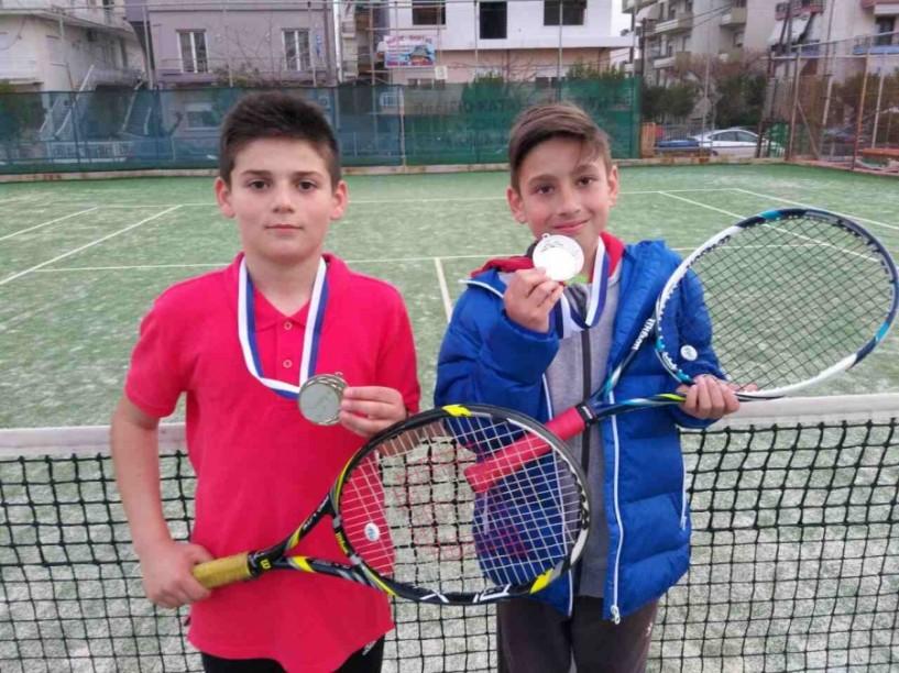 ΤΕΝΙΣ -  3η θέση και μετάλλιο στα διπλά και στους 16 στα μονά Α12 στο 2ο Ε2 Πανελλαδικό Πρωτάθλημα ο Μιχάλης Πατσίκας