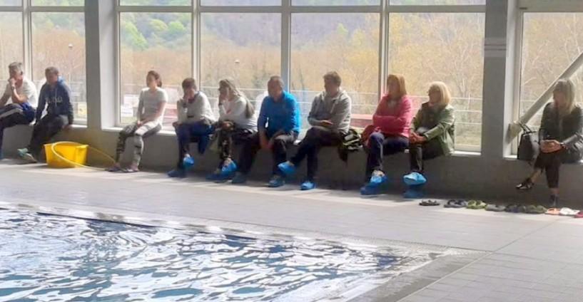 Επιτυχημένη ημερίδα κολύμβησης για τους γυμναστές δημοτικών σχολείων