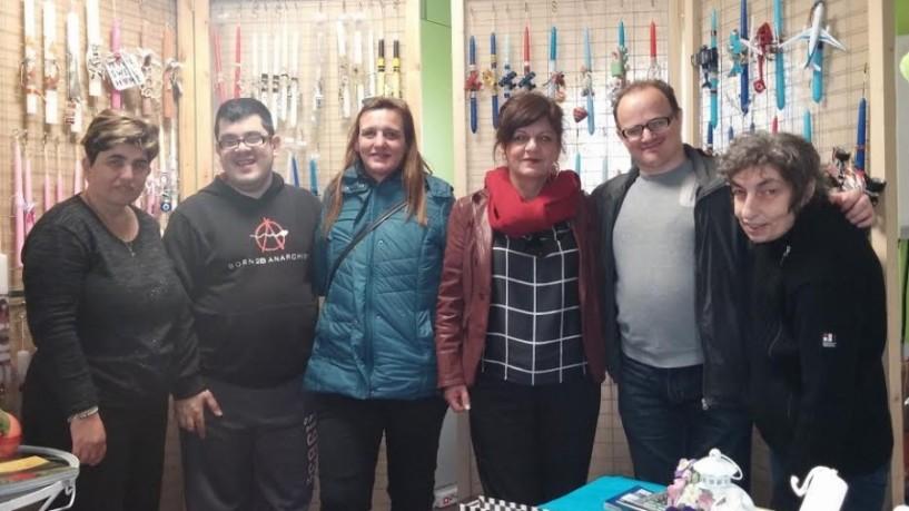 Στο πασχαλιάτικο Bazaar του Υφαδιού η Φρόσω Καρασαρλίδου