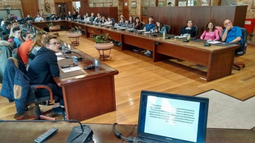 Βασίλης Παπαδόπουλος: Ένταση των προσπαθειών ενημέρωσης της μαθητικής κοινότητας για θέματα της καθημερινότητας