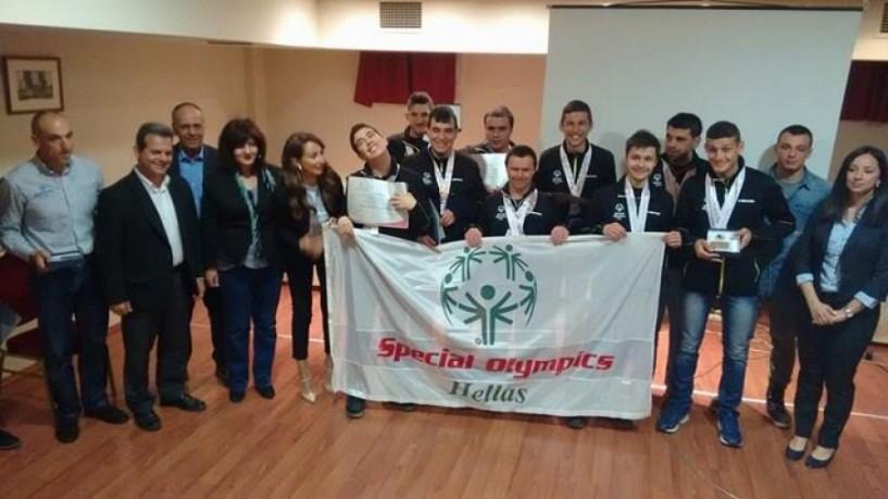 Τους πρωταθλητές του παγκόσμιου πρωταθλήματος Special Olympics τίμησε ο γ.γ. Αθλητισμού Ιούλιος Συναδινός (Φωτογραφίες - Βίντεο)