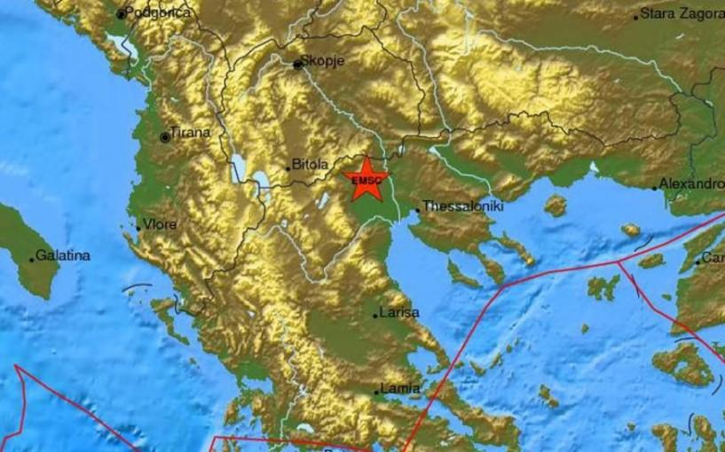 ΄Κουνήθηκε΄ και η Ημαθία από μικρό σεισμό στην Έδεσσα
