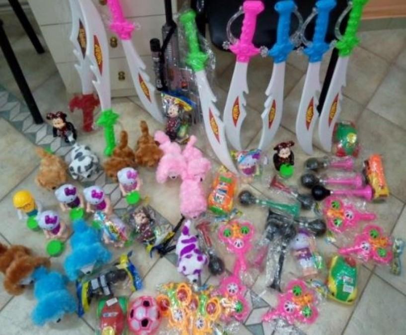 Κατάσχεση παιδικών παιχνιδιών από πλανόδιο πωλητή στη Βέροια