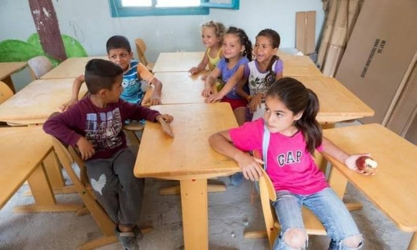 Πρώτο κουδούνι σήμερα για τα προσφυγόπουλα της Αγίας Βαρβάρας