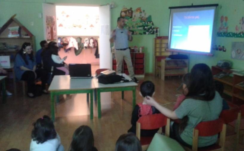 Ενημέρωση για τη στοματική υγιεινή στον β΄ παιδικό σταθμό Νάουσας