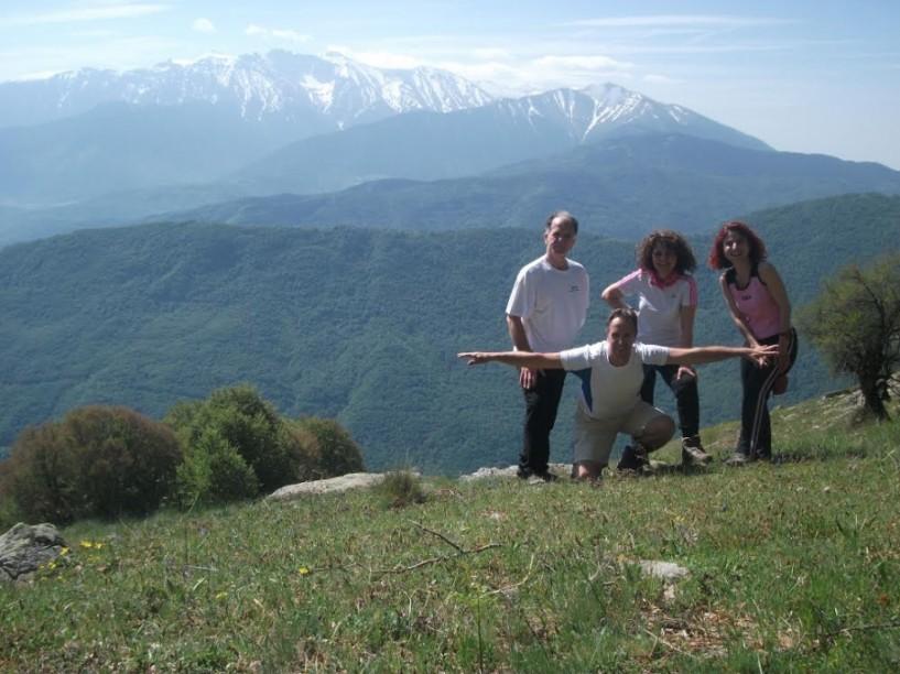 Στην Άνω Μηλιά - 5 Πύργους, με τον Σύλλογο Χιονοδρόμων Ορειβατών Βέροιας