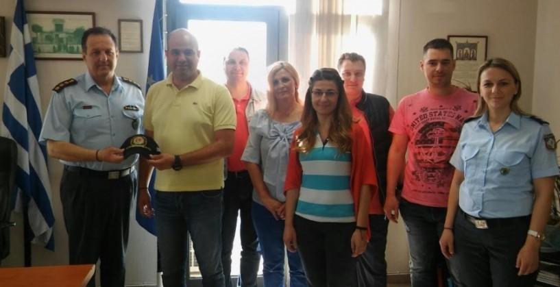Εθιμοτυπικές επισκέψεις της Διεθνούς Ένωσης Αστυνομικών Ημαθίας
