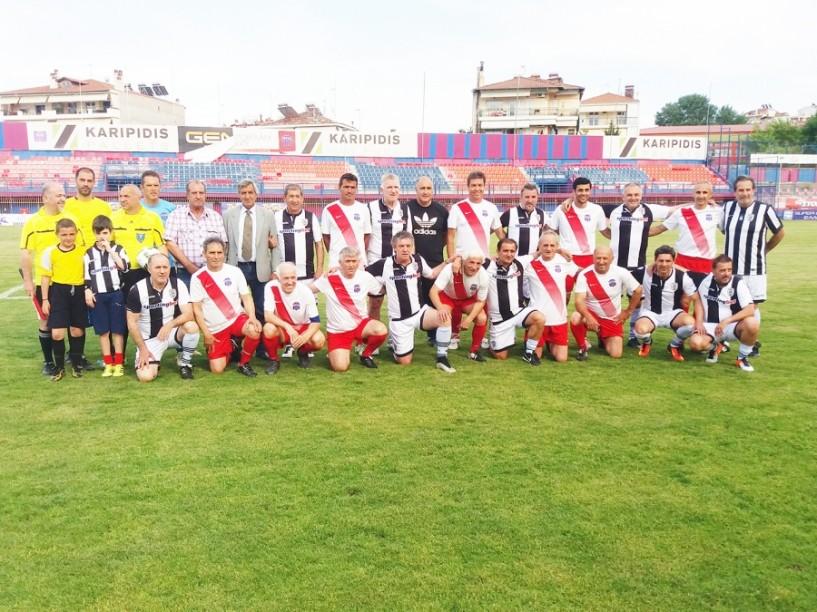 Σε φιλικό αγώνα Παλαίμαχοι Βέροιας- ΠΑΟΚ 2-0. Έγινε επιμνημόσυνη δέηση και δόθηκαν αναμνηστικές πλακέτες