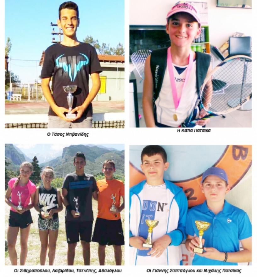 Τένις - Νέα του Ερμή Βέροιας