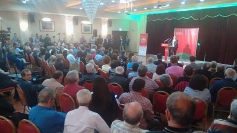 Φώφη Γεννηματά από τη Βέροια: «Επιστρέψαμε, δυναμώνουμε καθημερινά, ενωμένοι και αποφασισμένοι για την Ελλάδα, γιατί αυτό απαιτεί το μέλλον των παιδιών μας»