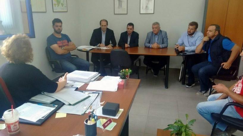 Βεσυρόπουλος, Καλαϊτζίδης, Γκυρίνης και αγρότες στον ΕΛΓΑ: Καταγραφή ζημιών και καταβολή των αποζημιώσεων ΠΣΕΑ στους αγρότες