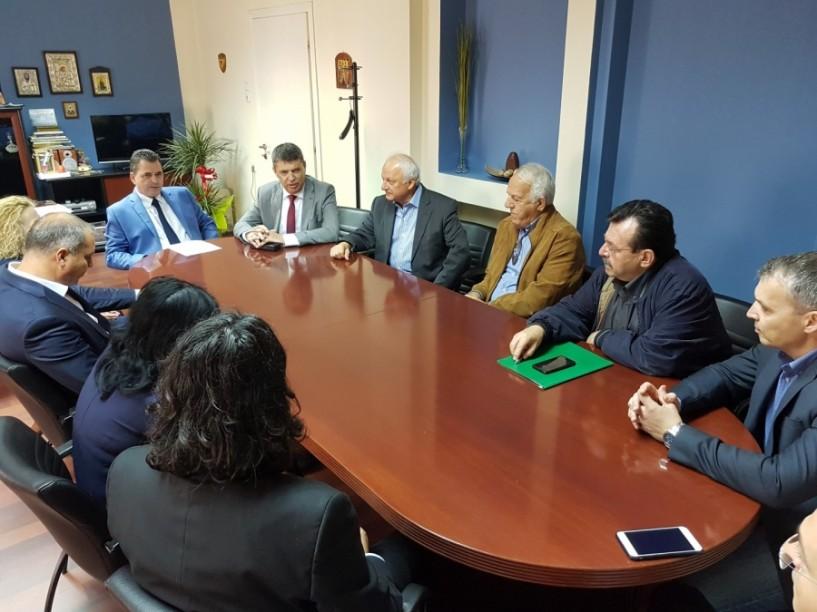 Eπανεπιβεβαίωσαν τους δεσμούς φιλίας και συνεργασίας Ημαθία και Ιλφόβ Ρουμανίας