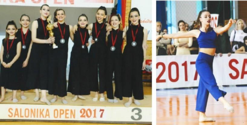 Πολλές επιτυχίες του ΑΟΡΓ Βέροιας στους χορευτικούς αγώνες SALONICA OPEN