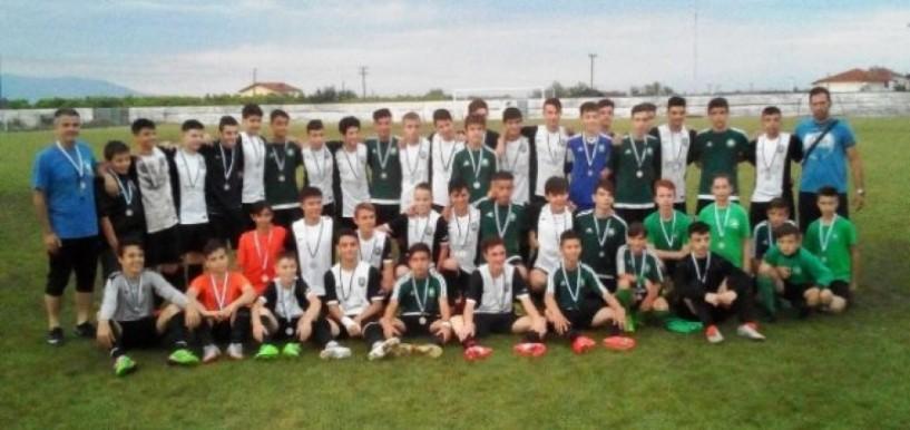 Πρωταθλήτρια η Ακαδημία ΠΑΟΚ Κουλούρας στο Vergina cup
